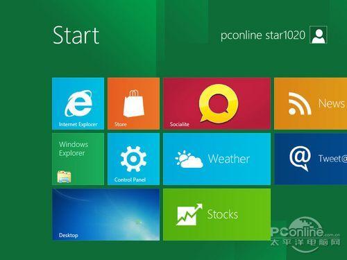 图26 Windows 8新操作界面