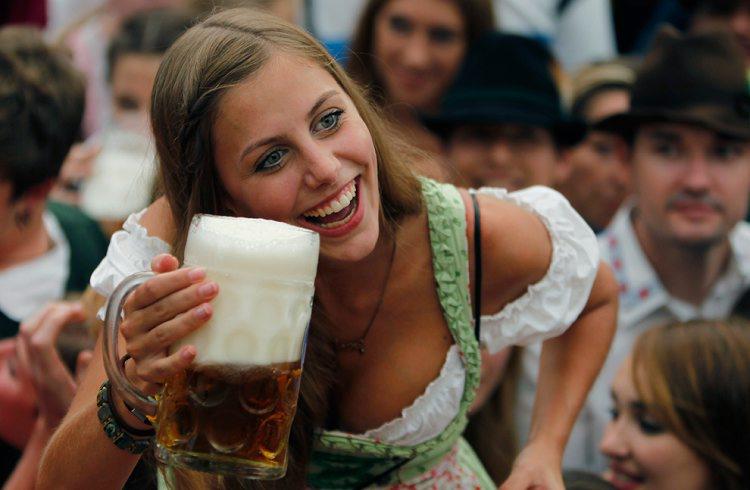 组图:慕尼黑啤酒节