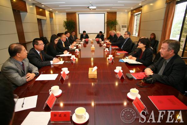 刘延国副局长会见加拿大土木工程学会一行