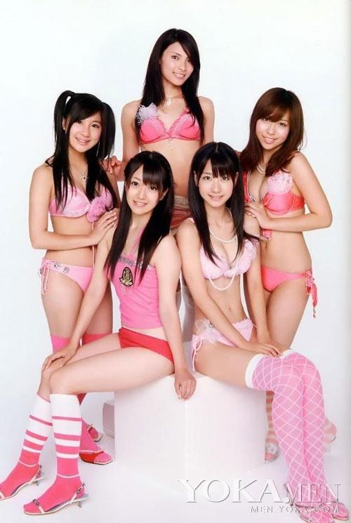日本当红少女天团AKB48海量高清比基尼写真