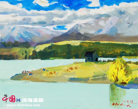 澳大利亚现代风景油画