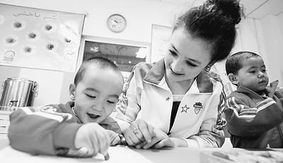 听障儿童教育获资助