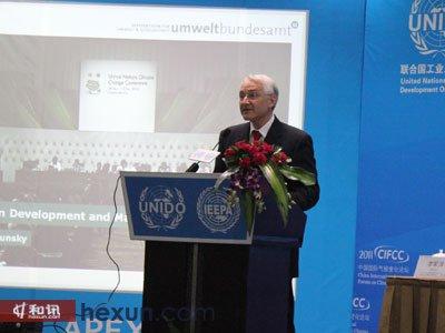 奥地利联邦环境部部长Klaus Radunsky