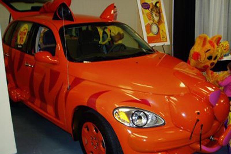 爆笑动物型汽车 创意就在身边