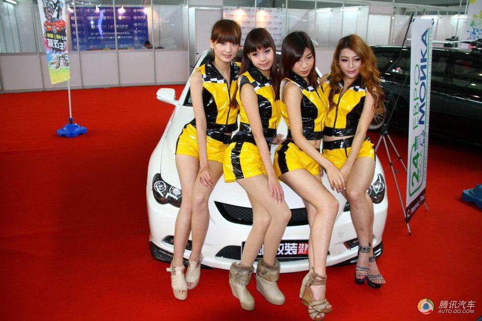 2012第八届广州国际汽车改装展美女模特