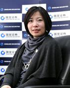 国金理财服务中心上海大区副总监宋静漪