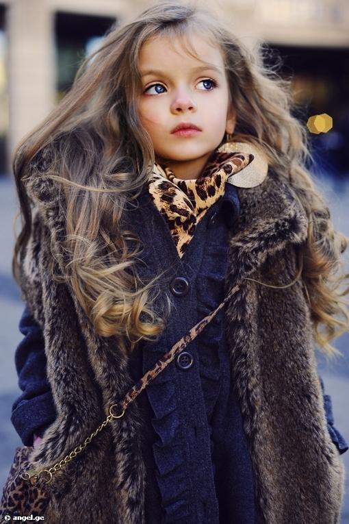 小模特米兰 库尔尼科娃