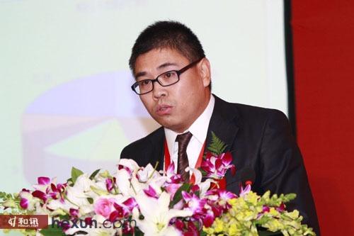 光大永明人寿董事会秘书李高峰发表主题演讲