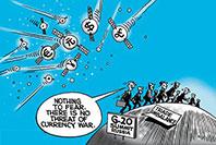 各国央行竞相宽松 货币战争硝烟再起