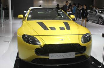 阿斯顿马丁V12 VANTAGE S亮相