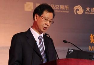 中国证监会副主席姜洋致辞