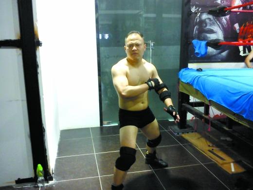 中国摔角第一人讲述摔角故事