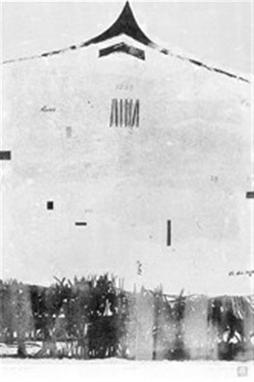 时间之墙版画照片