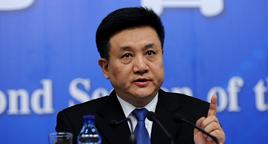 图文:环境保护部副部长吴晓青答记者问