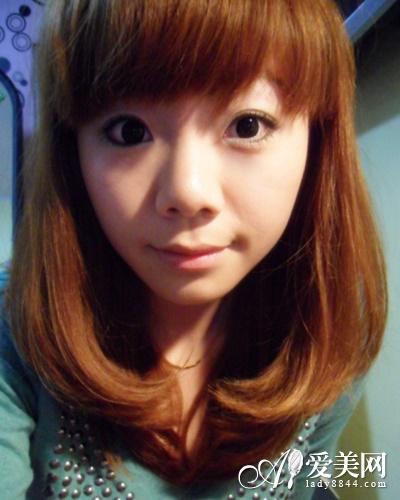 齐刘海女生梨花头-文艺女青年发型 打造新潮魅力文艺范