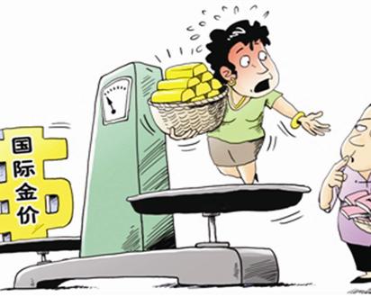 中国大妈疯狂抢金 价格走低惨遭黄金劫