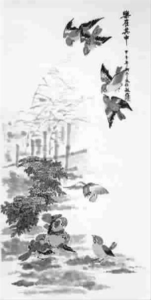 春天来了(中国画)