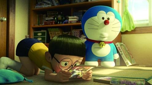 哆啦A梦 静香为什么要和