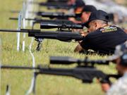 武警部队主办首届国际狙击手射击竞赛开幕